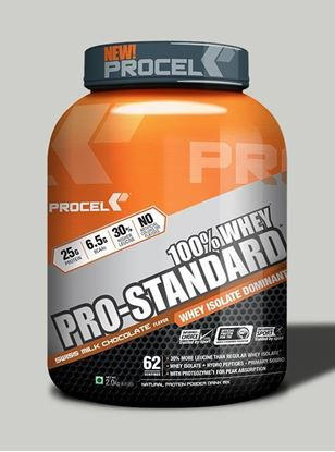 Picture of PROCEL Pro-Standard 100% Whey 2kg Swiss Milk Chocolate