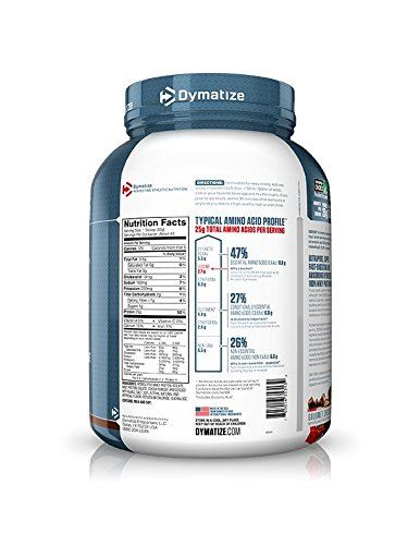 Picture of Dymatize ISO 100 48 OZ Gourmet Chocolate 3 Lbs