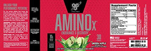 Picture of BSN Amino X Acids - Green Apple 30 Servings
