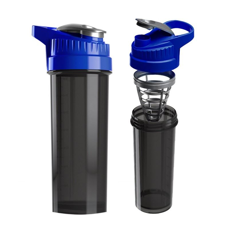 Picture of New Cyclone Cup Shaker Blue 32 oz Smoked