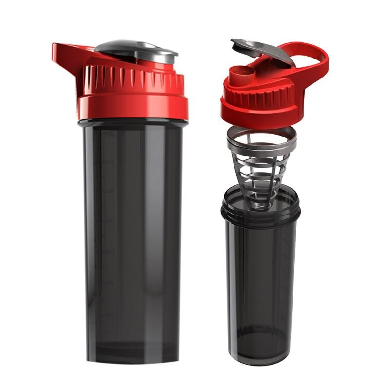 Picture of New Cyclone Cup Shaker Red 32 oz Smoked