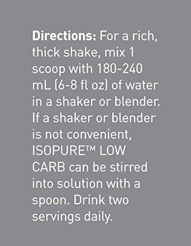Picture of Isopure - Whey Protein Isolate Creamy Vanilla 7.5 lbs