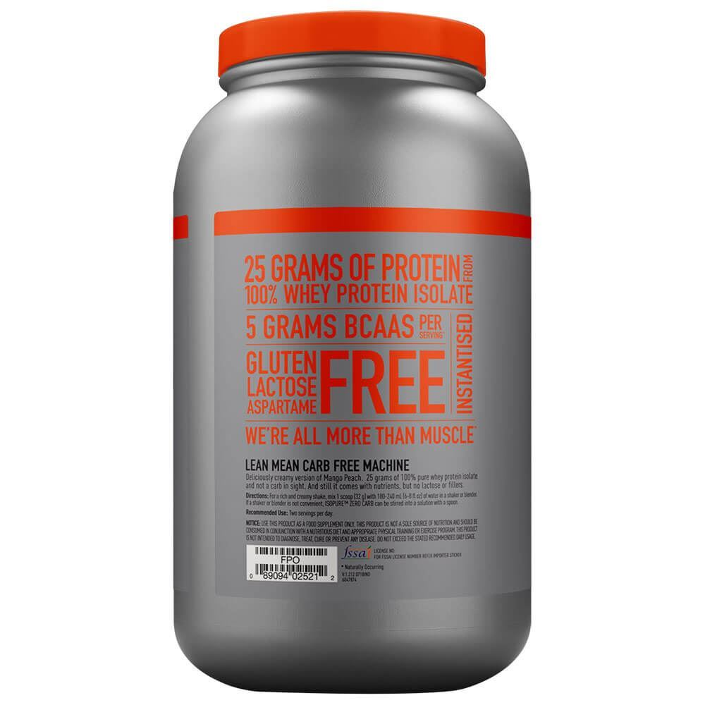Picture of Isopure - Whey Protein Isolate Mango Peach 3 Lbs (Short Shelf Life)