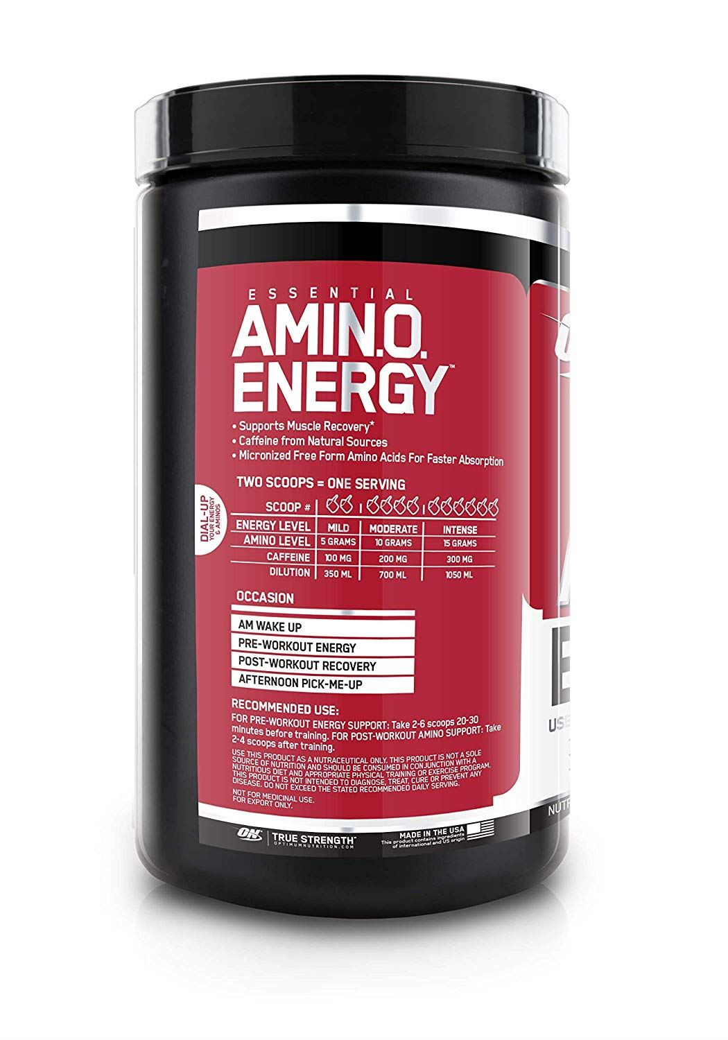 Picture of ON Amino Energy Fruit Fusion 30 Servings