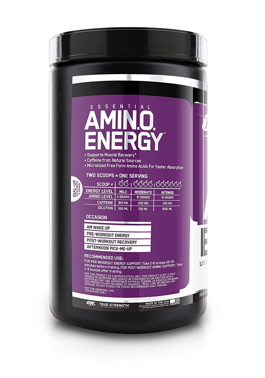 Picture of ON Amino Energy Grape 30 Servings