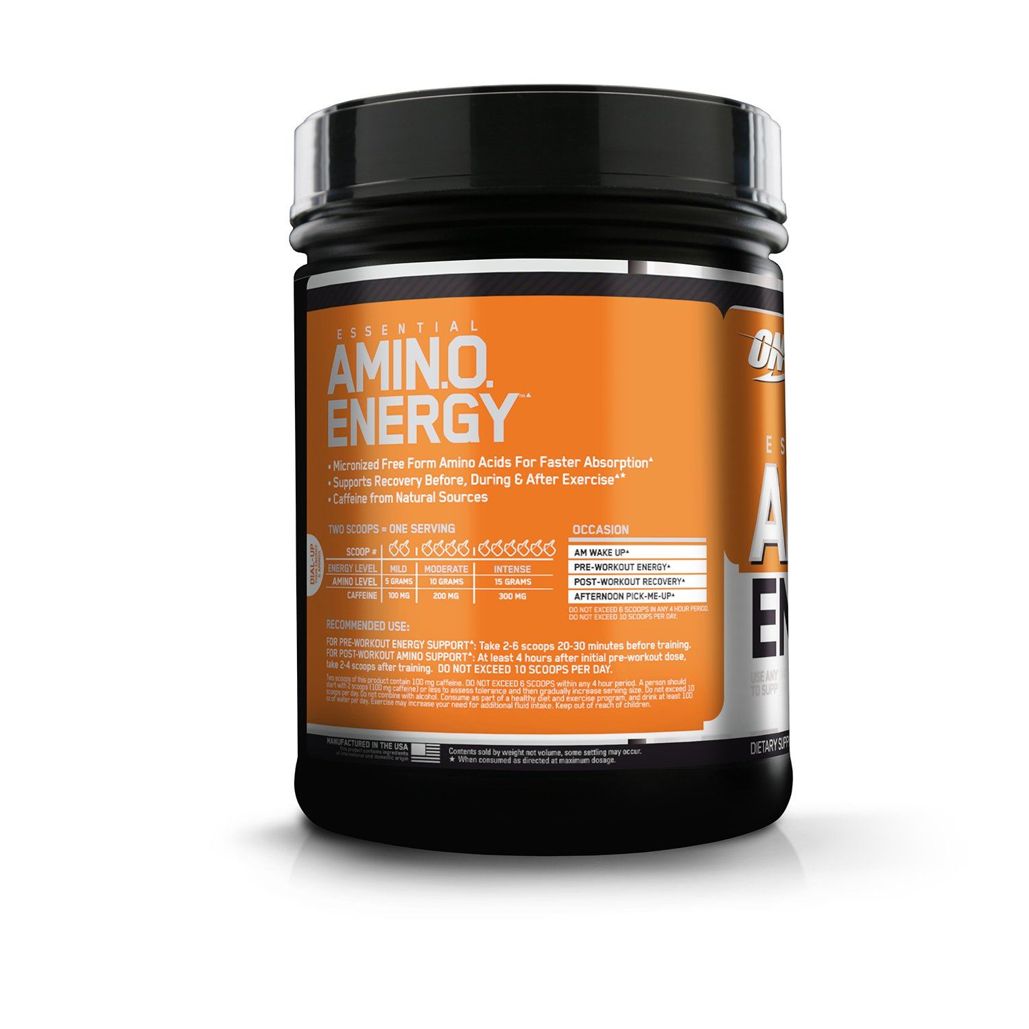 Picture of ON Amino Energy Orange 65 Servings