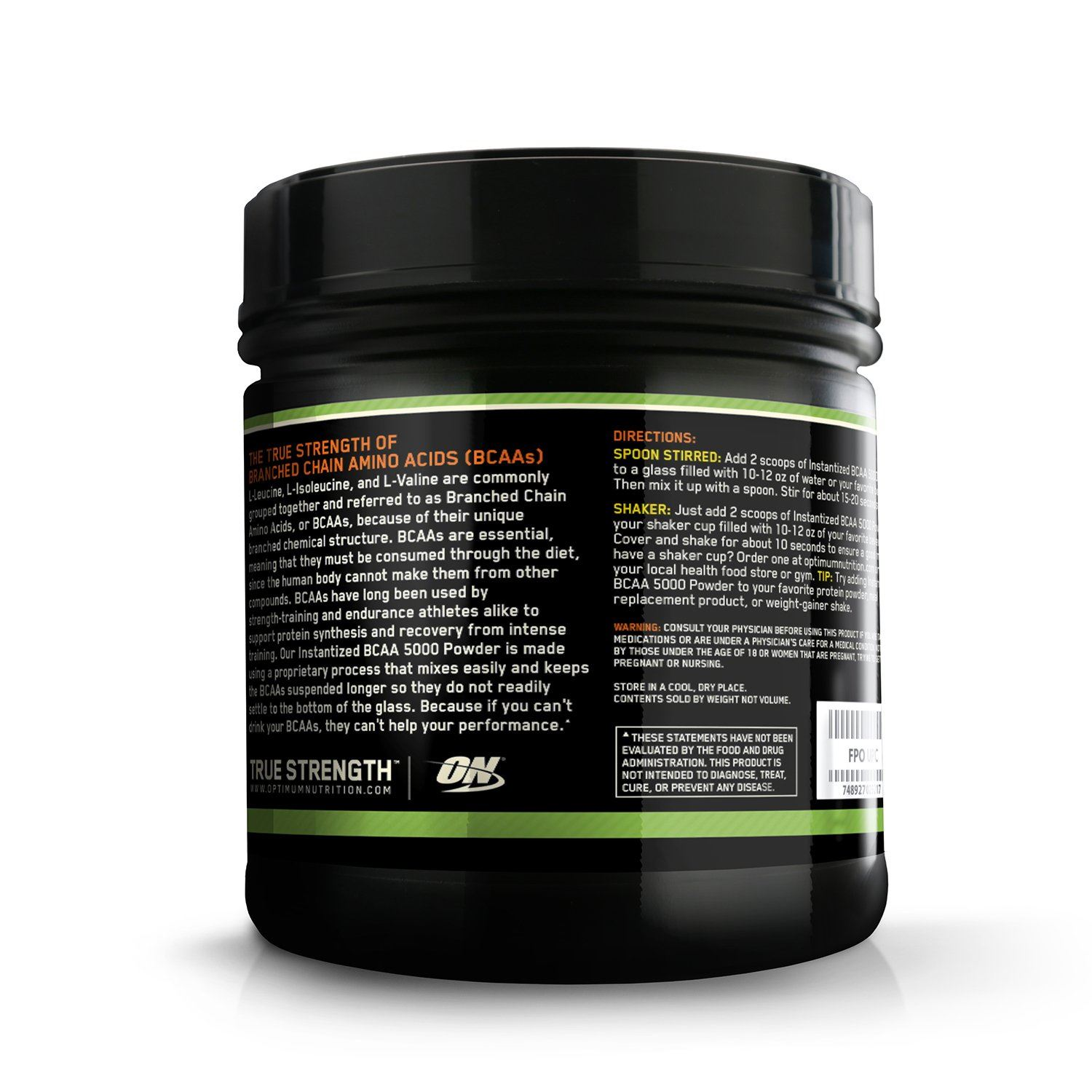 Picture of ON BCAA Powder Orange 40 Servings
