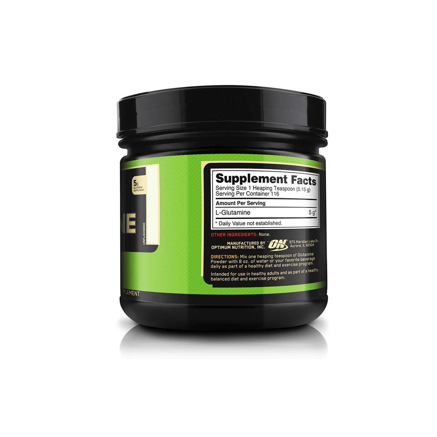 Picture of ON Glutamine Powder Unflavored 600 g