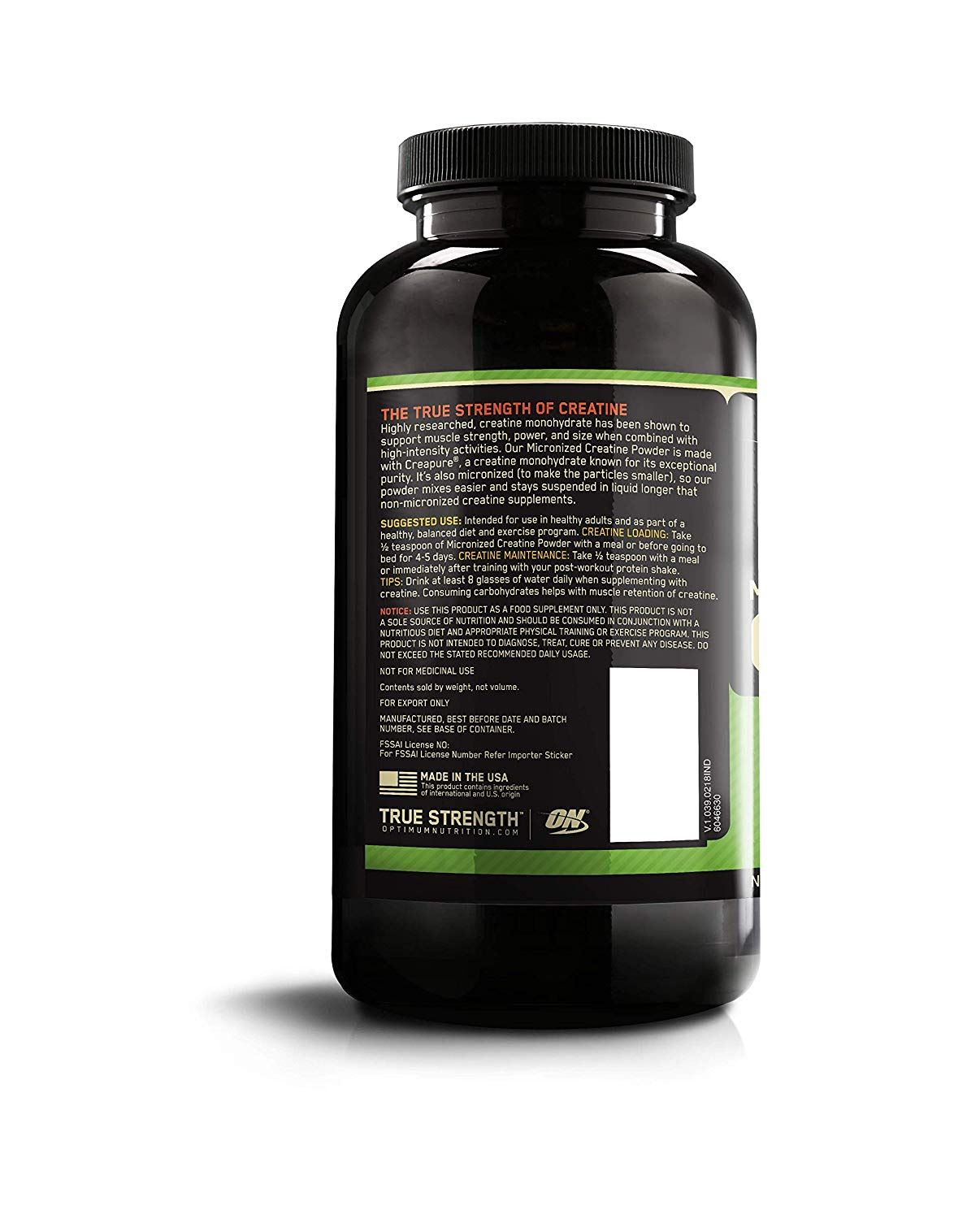 Picture of ON Micro Creatine Powder 300 g