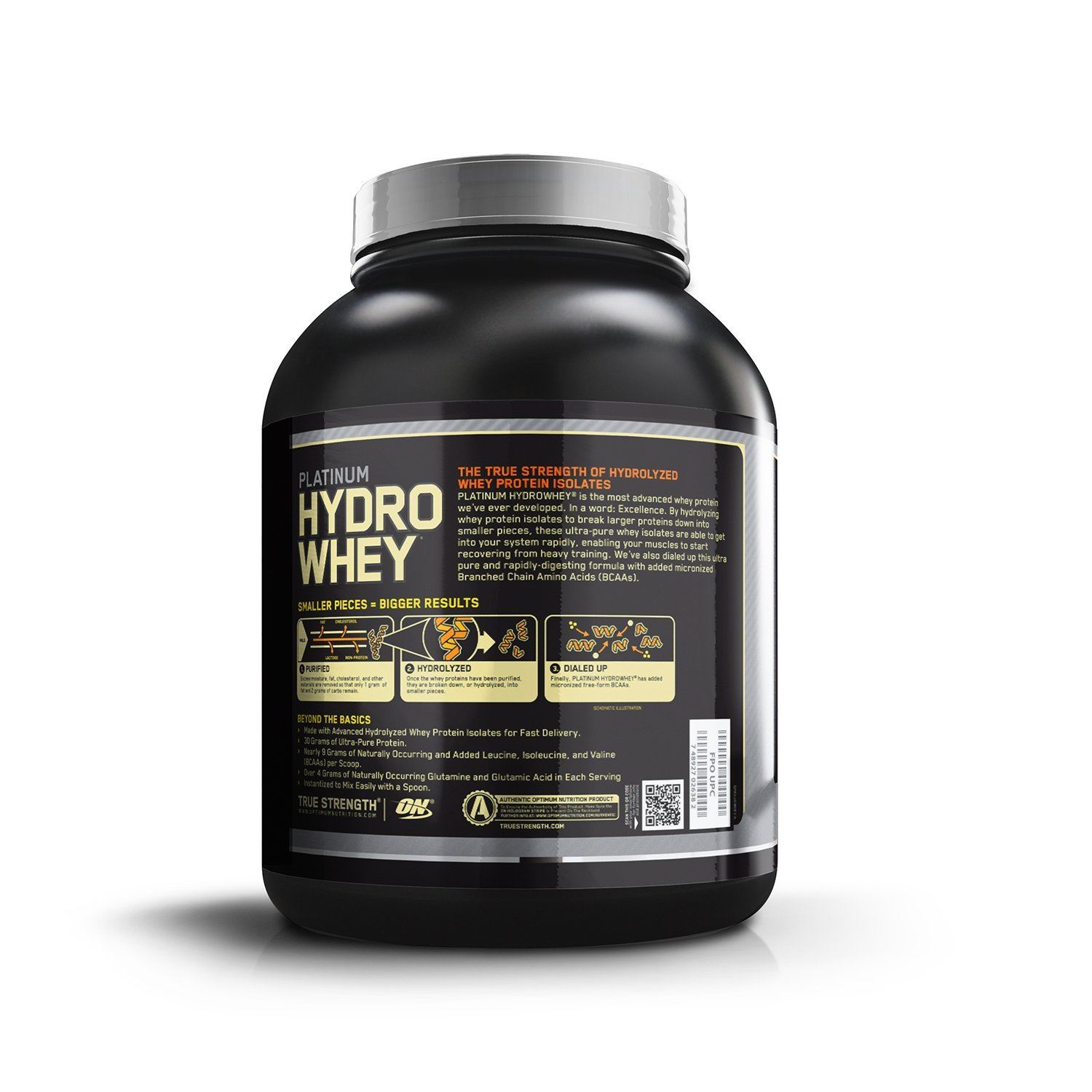 Picture of ON Platinum Hydro Whey Chocolate 3.5 lbs