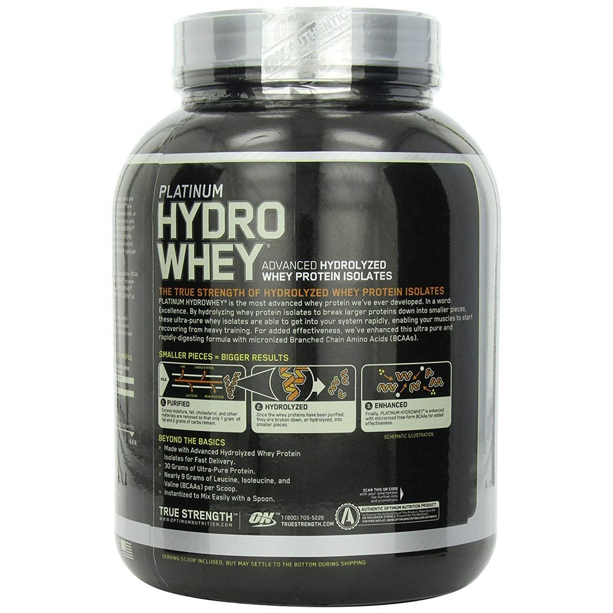 Picture of ON Platinum Hydro Whey Cookies 3.5 lbs