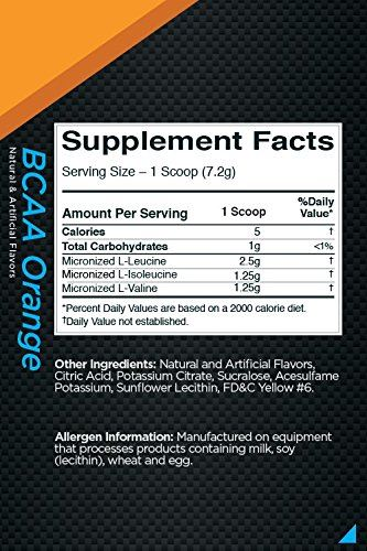 Picture of Rule 1 BCAA Orange 30 Servings
