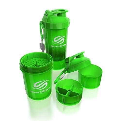 Picture of Smartshake Neon Green Shaker 600 ml