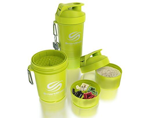Picture of Smartshake Shaker Neon Yellow 500 ml