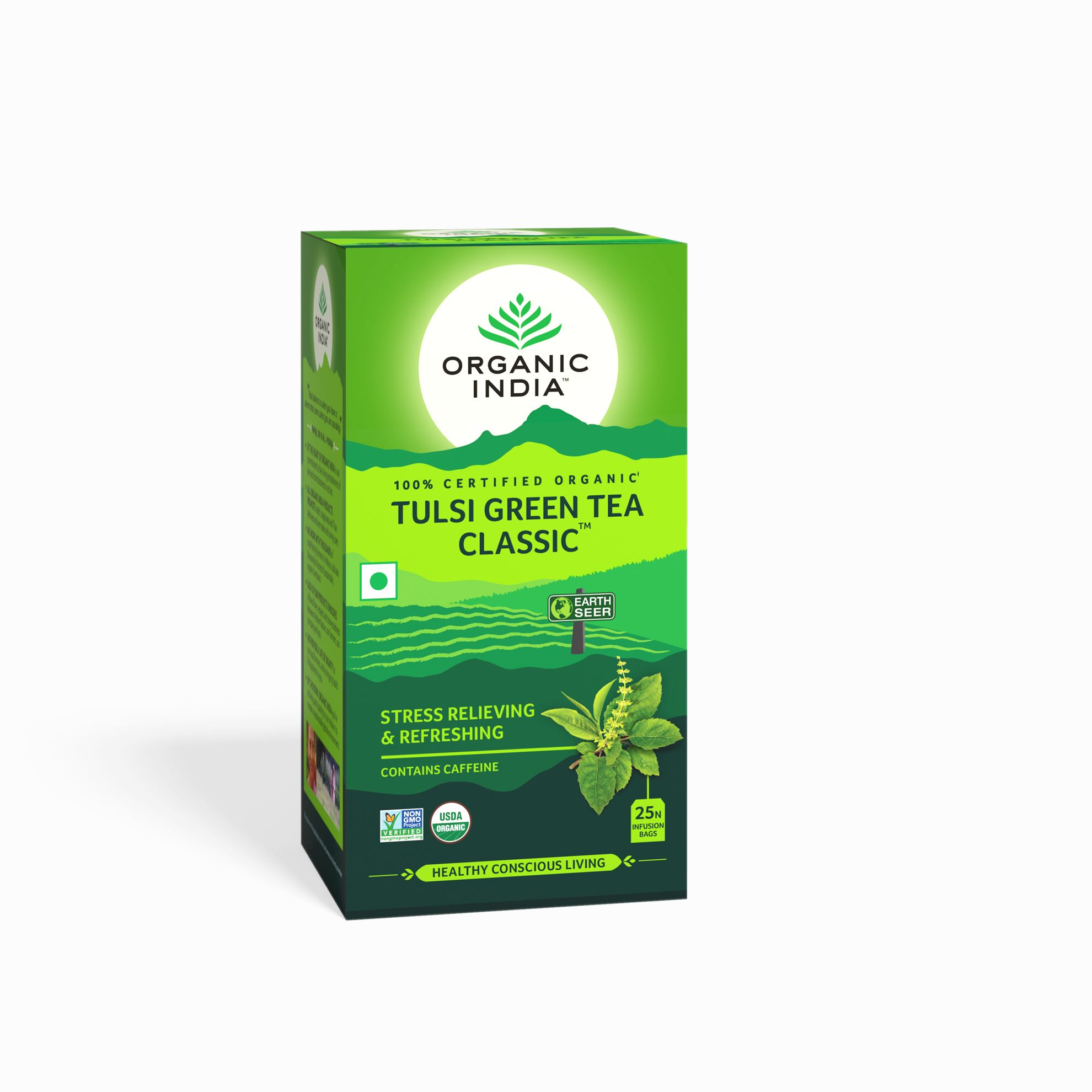 Picture of Organic India-  Tulsi Green 25 Tea Bags