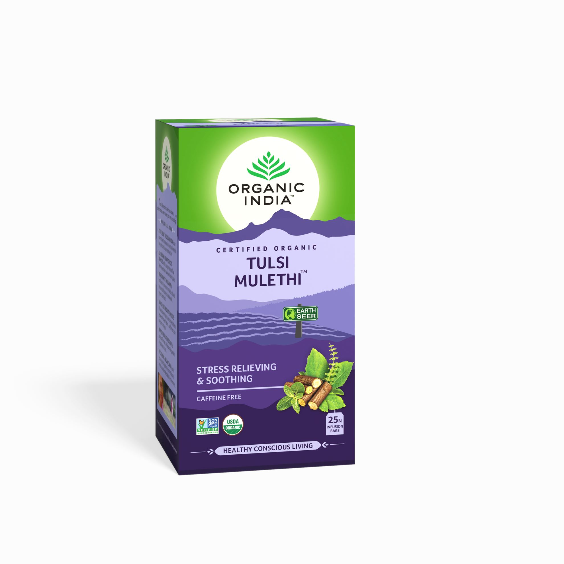 Picture of Organic India-  Tulsi Mulethi 25 Tea Bags