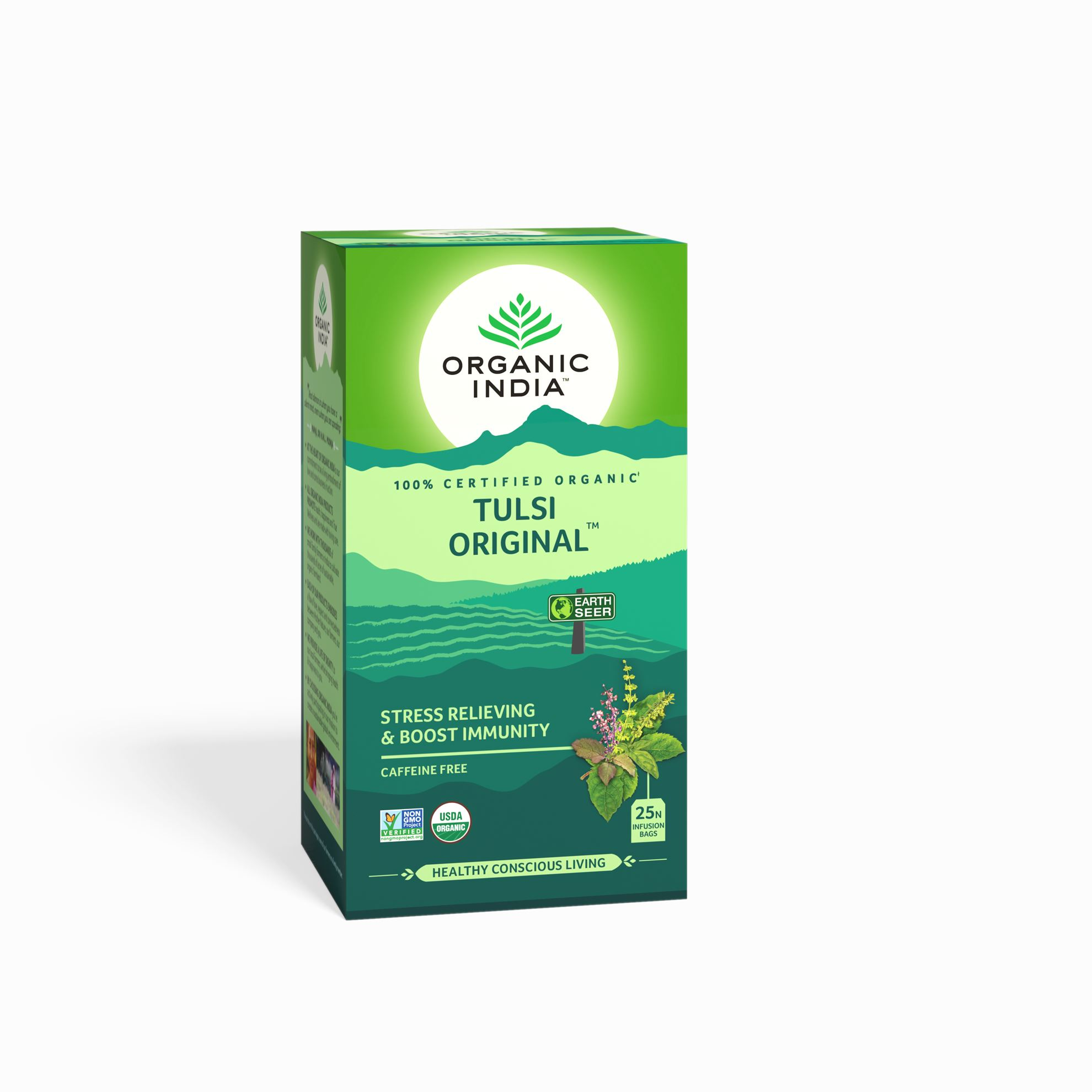 Picture of Organic India-  Tulsi Original 25 Tea Bags