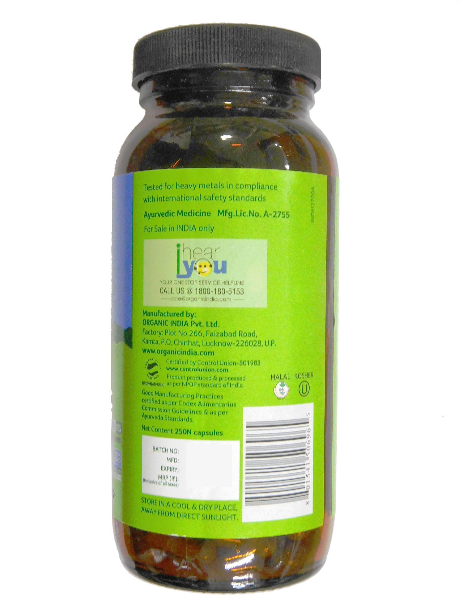 Picture of Organic India- LKC 250 Capsules