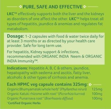Picture of Organic India- LKC 60 Capsules