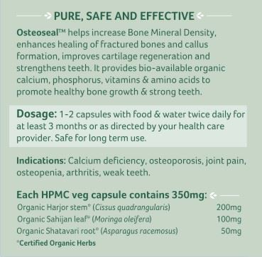Picture of Organic India- Osteoseal 60 Capsules
