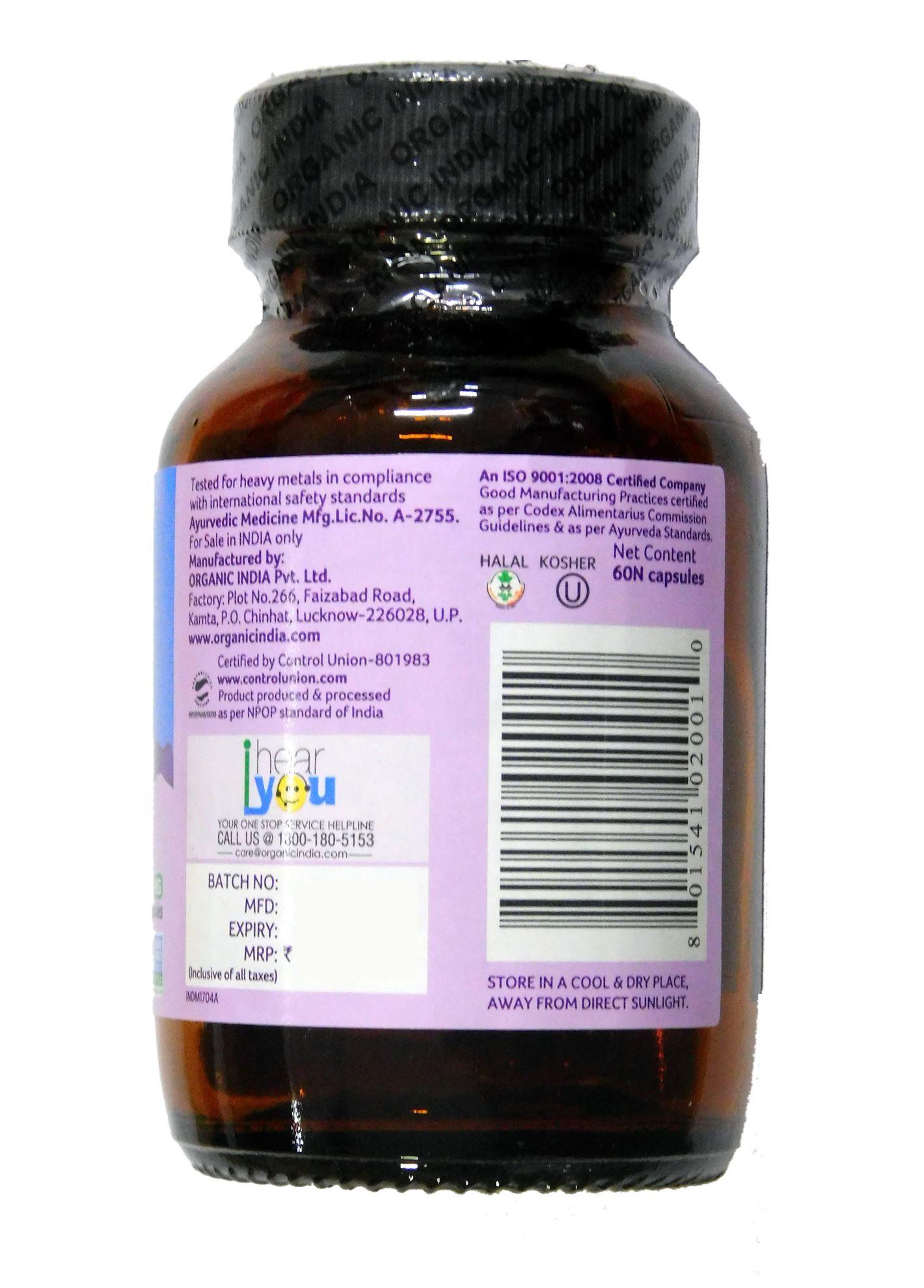Picture of Organic India- Tulsi 60 Capsules