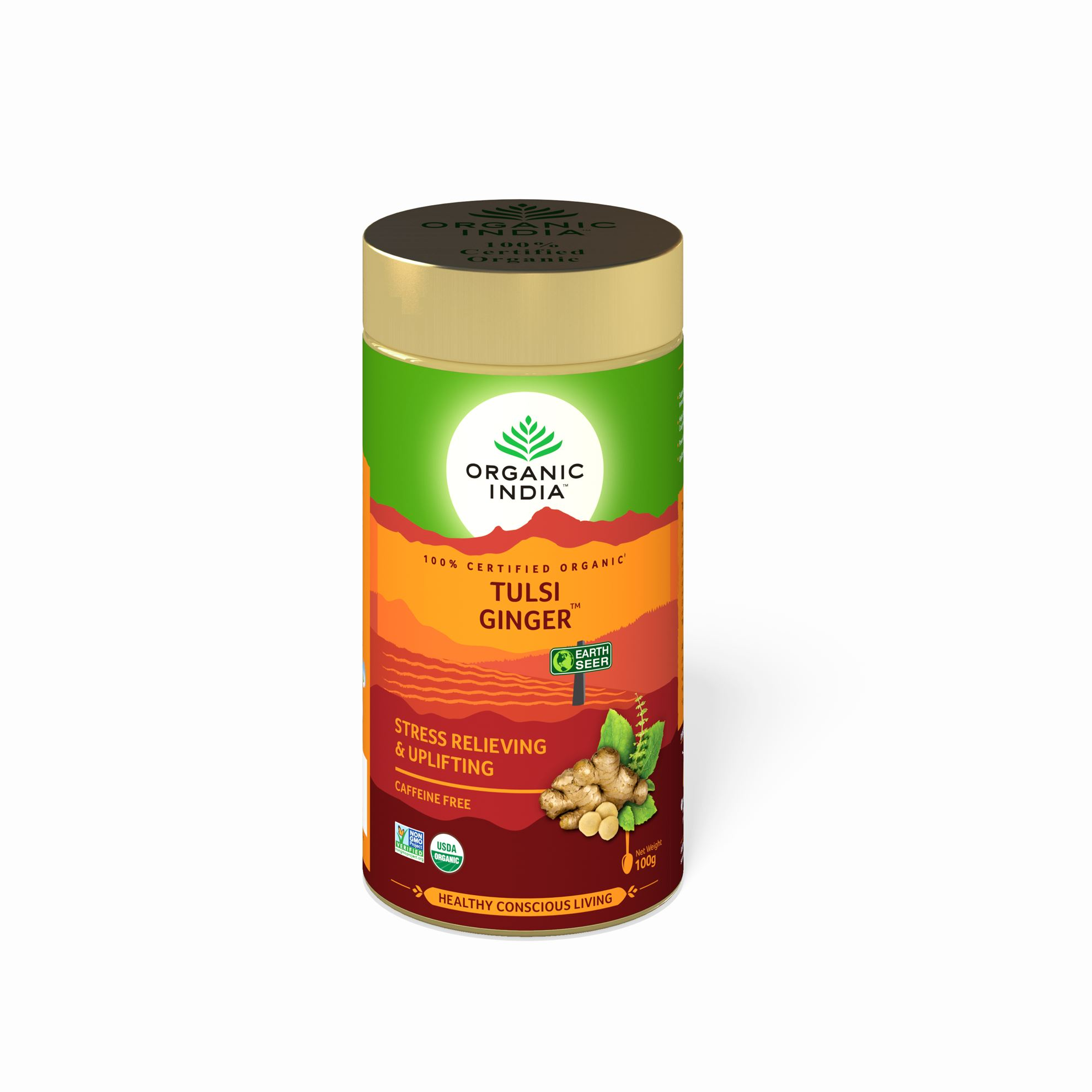 Picture of Organic India- Tulsi Ginger 100 Grams