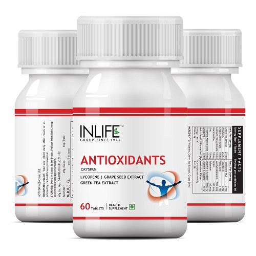 Picture of INLIFE- Antioxidants with Lycopene Immune Booster 60 Tabs