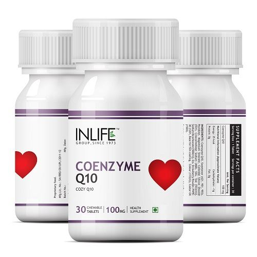 Picture of INLIFE- Coenzyme Q10 100mg 30 Chewable Tabs
