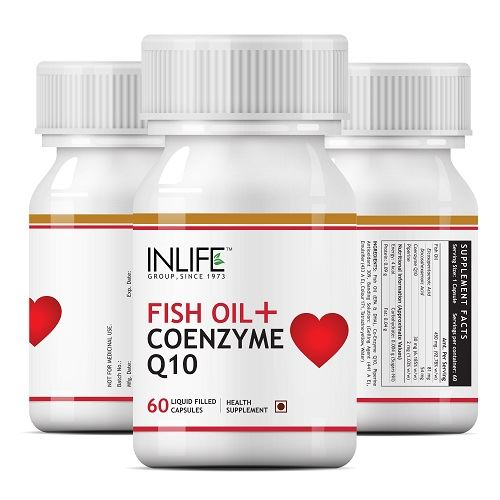 Picture of INLIFE- Fish Oil with Coenzyme Q10 60 Caps