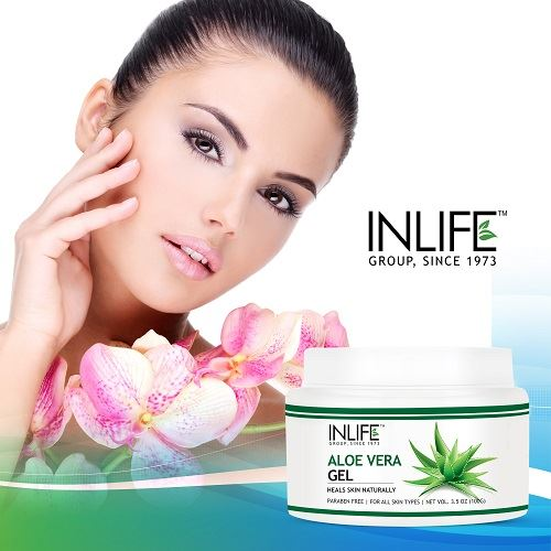 Picture of INLIFE- Natural Aloe Vera Face Gel 100 gm