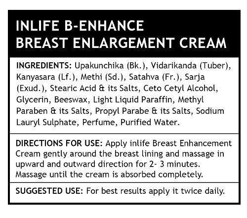 Picture of INLIFE- Natural Breast Enlargement Cream 100 gm