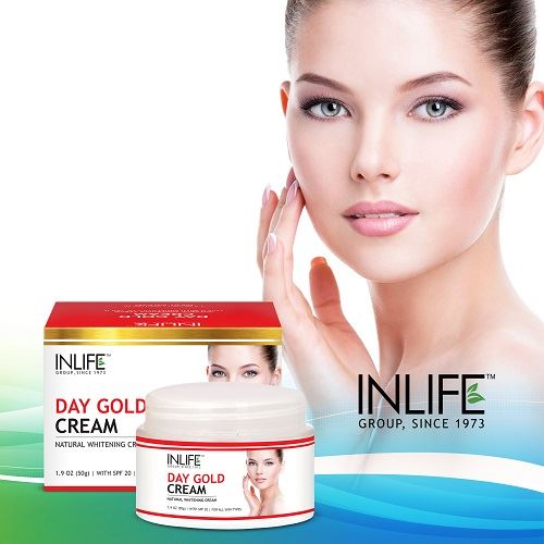 Picture of INLIFE- Natural Day Gold Cream 50 gm With SPF 20