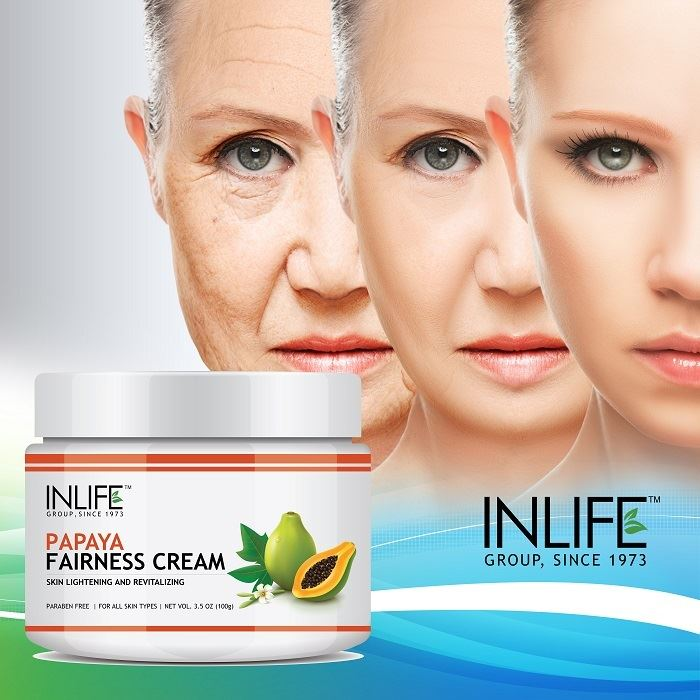 Picture of INLIFE- Natural Papaya Fairness Cream 100 gm