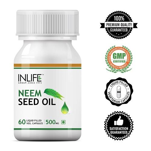 Picture of INLIFE- Neem Seed Oil 500mg 60 Caps