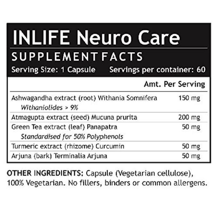 Picture of INLIFE- Neuro Nerve Care 500 mg  60 Caps