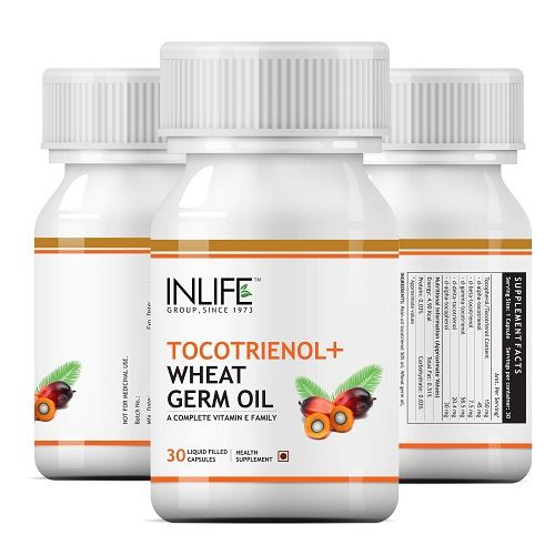 Picture of INLIFE- Tocotrienols & Wheat Germ Oil Vitamin E 30 Caps