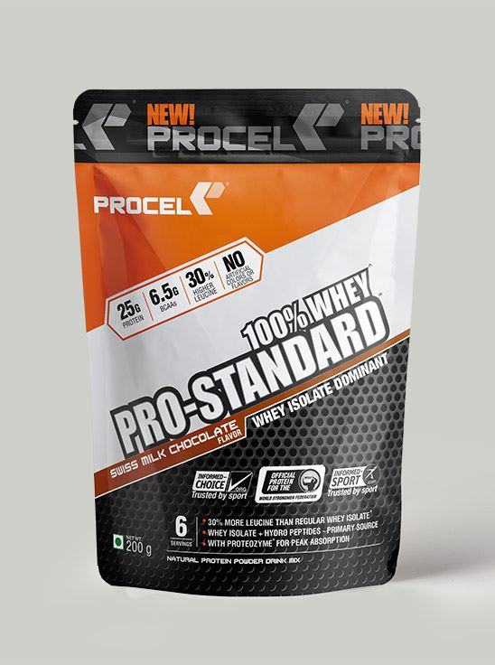 Picture of PROCEL Pro-Standard 100% Whey Trial Pack 200g Swiss Milk Chocolate