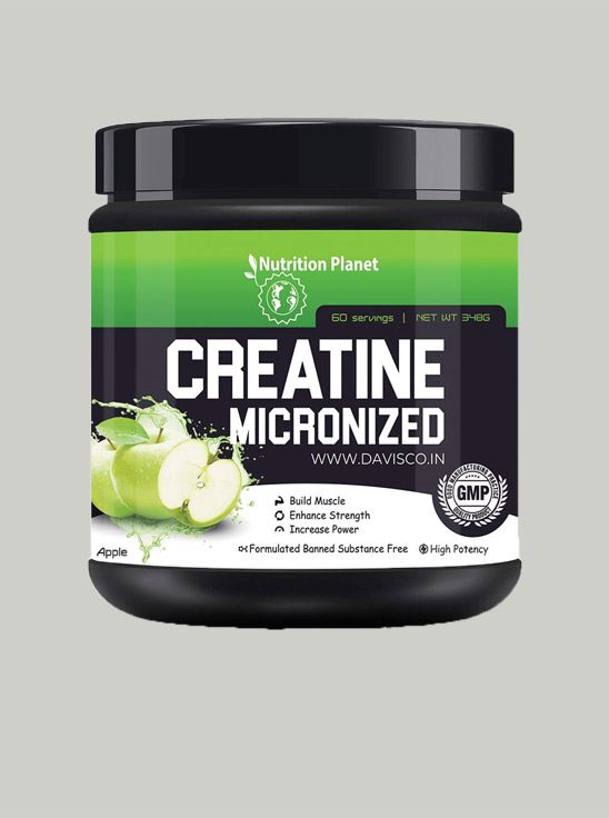 Picture of Nutrition Planet - Micronized Creatine Green Apple 348g