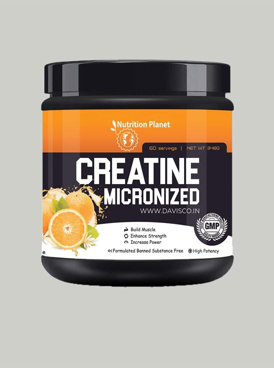 Picture of Nutrition Planet - Micronized Creatine Orange 348g