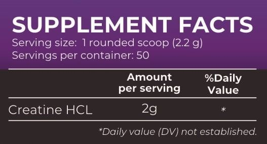 Picture of Nutrition Planet - Creatine HCL Black Currant 110g