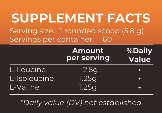 Picture of Nutrition Planet - BCAA Orange 348g