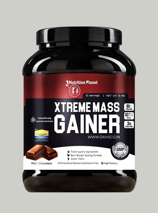 Picture of Nutrition Planet - Xtreme Mass Gainer Chocolate 3 kg