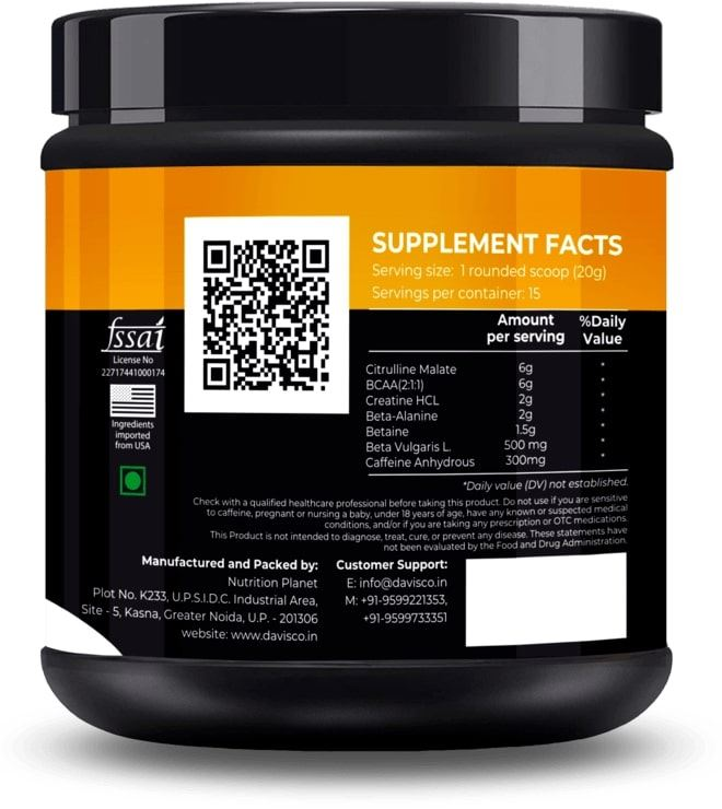Picture of Nutrition Planet - NXT LEVEL PRE-WORKOUT