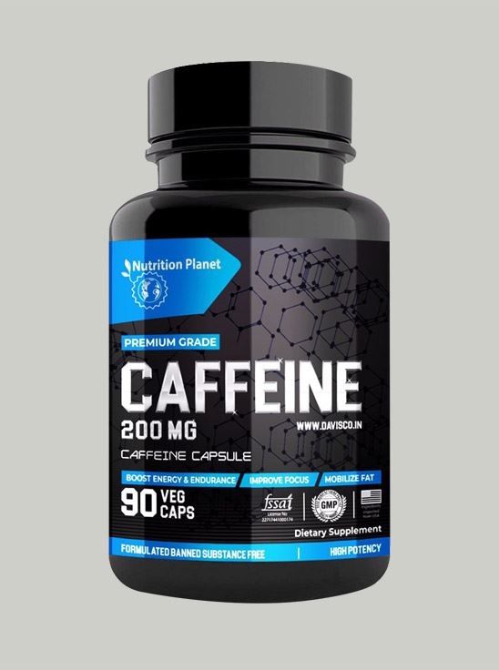 Picture of Nutrition Planet - Caffeine 90 Capsules