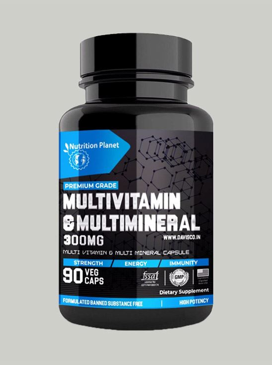 Picture of Nutrition Planet - MultiVitamin & MultiMineral 90 Capsules