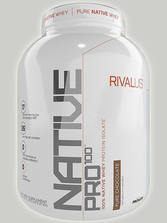 Picture of NATIVE PRO 100 Pure Chocolate 35 Servings (Short Shelf Life)