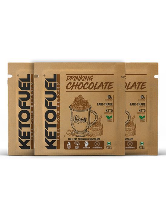 Picture of KETOFUEL® DRINKING CHOCOLATE Keto-Cocoa Powder 20 pks