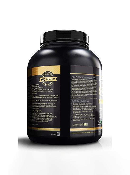 Picture of ON 100% Gold Standard Isolate Whey Protein Chocolate Bliss 3 lbs