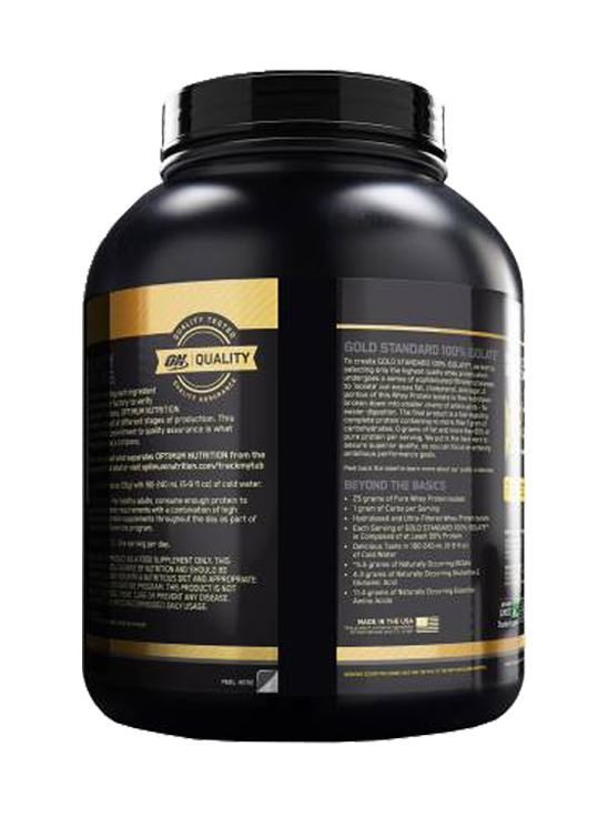 Picture of ON 100% Gold Standard Isolate Whey Protein Rich Vanilla 3 lbs