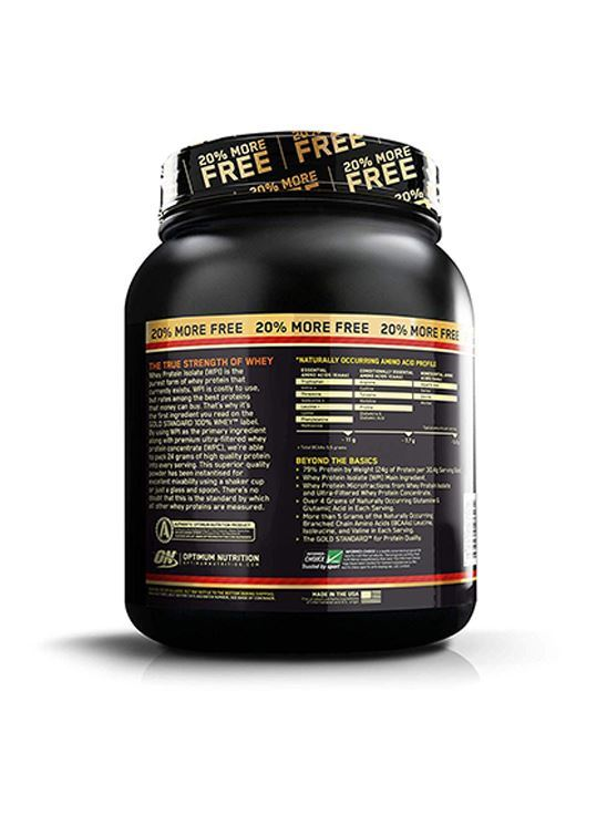 Picture of ON 100% Whey Gold Standard 2.4 lbs Bonus Pack 20% Extra (Double Rich Chocolate)